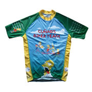 Custom Coolmax Sublimation Bike Uniform from China (mainland)