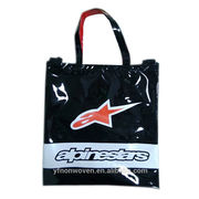 Custom made PVC shopping bag, from China (mainland)