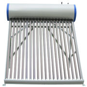 China Integrated pressurized solar water heater