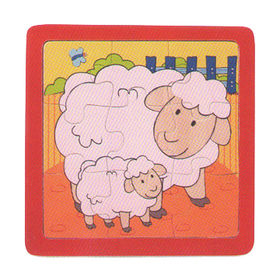 2015 kid's wooden animal plywood puzzles from China (mainland)