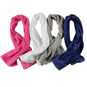 China Microfiber sweat towels, small MOQ can be accepted with embroidered logo