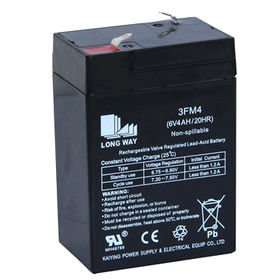 Sealed rechargeable lead acid battery Manufacturer