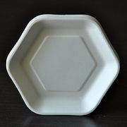 Disposable bagasse cake plate from China (mainland)