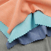 Moisture Wicking Fabric in Supima Cotton 2-Tone Pique with Permanent Wicking