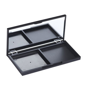 Cosmetic empty plastic palette cases