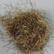 Brass coated steel fiber