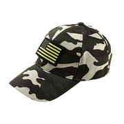 Camo outdoor Velcro flags hunting OEM hats from China (mainland)