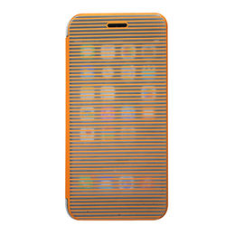 China Touch screen PU cover with PC case for iPhone 6