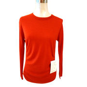 100% Cashmere Crew Neck pullover from Inner Mongolia Shandan Cashmere Products Co.Ltd