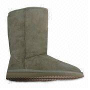 Women's Snow Boot with Microfiber Upper, Customized Colors Accepted, Comfortable and Warm