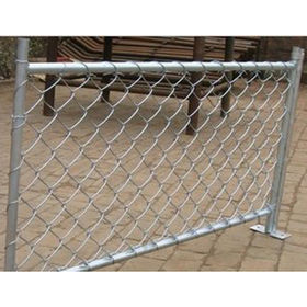 China Galvanized chain link fence