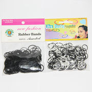 Children black/white hair rubber bands from China (mainland)