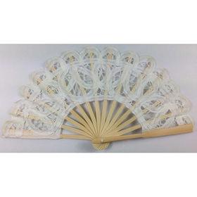 White mini lace fan from China (mainland)