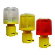 4 SMD LED solar power traffic warning light from China (mainland)