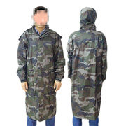 Camouflage Long Dust Coat from China (mainland)
