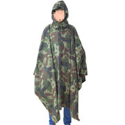 Durable Camouflage Square Poncho from China (mainland)
