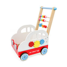 2015 New Multifunction Push Balance Baby Walkers with Four Wheels, Unit Size of 30*58.5*35cm
