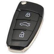Metal Audi Car Key USB Flash Drives, 512MB to 64GB, OEM Orders Welcome