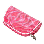 Promotional waterproof nylon cosmetic bags suitable for men and women OEM&ODM order all welcomed from Iris Fashion Accessories Co.Ltd