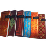 Colored PU hardcover notebook from China (mainland)