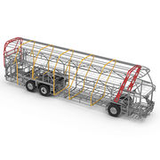 High Strength Steel Channel/Pipe Body Frame from China (mainland)