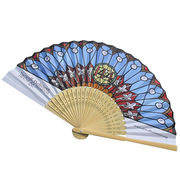 China Bamboo bone hand fan