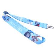 China wholesale id card holder lanyards cheap sublimation printed polyester lanyard
