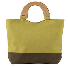 PU leather handbag from China (mainland)