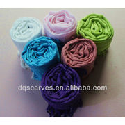 2014 Spring Solid Color Dyed Stock Scarf from China (mainland)