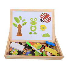 China Wooden Double-sided Blackboard