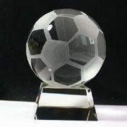 Football Crystal Trophy Manufacturer