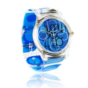 Promotional Plastic PVC Quartz Watch Manufacturer