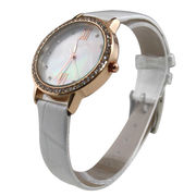 Luxury Rose Gold Plating Alloy Case Watch from Hong Kong SAR