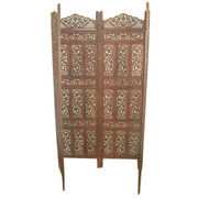 Wooden Room Divider Screen from India