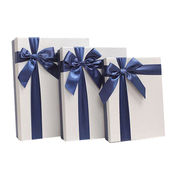 3-piece rigid boxes with 1 to 4C printing, ideal for various gifts purposes