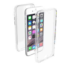 China Anti-scratch dual-layer case with front cover for iPhone 6, 4H hardness