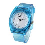 ABS Transparent Analog Watch from Hong Kong SAR