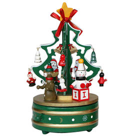 2015 Popular Wooden Christmas Music Box from China (mainland)