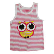 Professional factory 100% cotton baby vest from China (mainland)