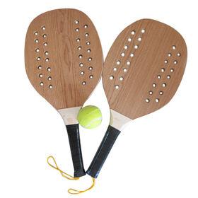 2015 Summer Custom Wooden Beach Racket from China (mainland)