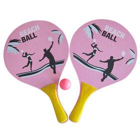 2015 Promotional Wooden Beach Racket Bat