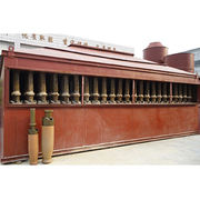 Ceramic tube pulse dust collector, for industrial dust collection