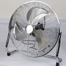 "18"" chrome floor fan Manufacturer"