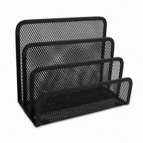 Iron Wire File Holders, Measures 17.5 x 8.5 x 14cm, Durable and Easy to Use