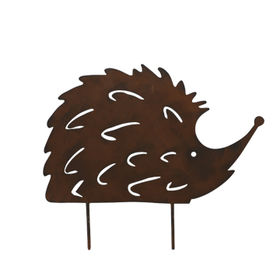 Wholesale Powder Coat Metal Hedgehog Silhouette St from China (mainland)