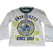 Boys' long-sleeved t-shirt from China (mainland)