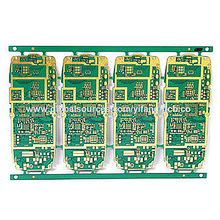 Immersion Silver 6-layer FR4 PCB from China (mainland)