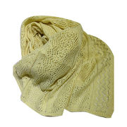100% Cashmere Scarf with Lurex from Inner Mongolia Shandan Cashmere Products Co.Ltd