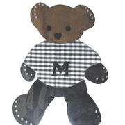 Teddy bear rhinestone sticker from China (mainland)
