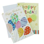 High quality paper material birthday card from China (mainland)